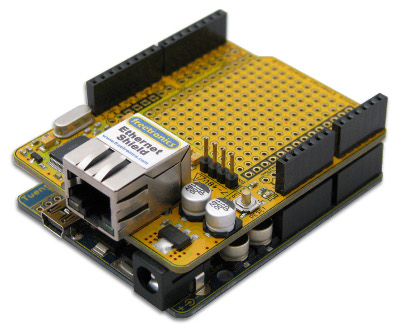 Ethernet shield with PoE