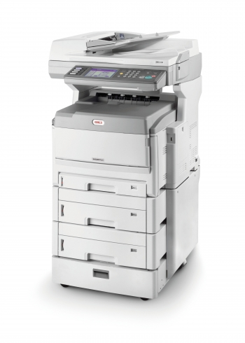 Fully kitted OKI MC862CDXN business class printer