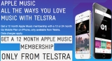 Telstra: Go Mobile post-paid iPhone customers get 12 months of Apple Music