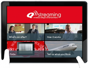 Qantas flies i with iPads and Q Streaming