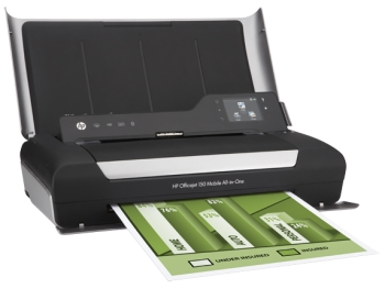 Print and scan on the go - new mobile from HP