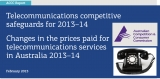 ACCC: comms prices fell 2.7% in 2013-14, consumers benefit
