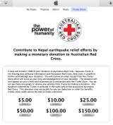 Apple activates iTunes Nepal Earthquake donations