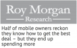 Amaysim loves Roy Morgan's findings on savvy mobile users