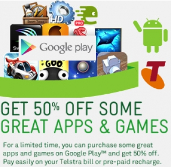 Go ogle Google Play doing a deal with Telstra!
