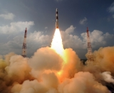 Launch of India's Mars Orbiter Mission (MOM)