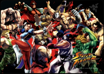 Razer Goliathus Street Fighter Special Edition – Mouse mat