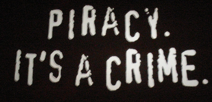 Piracy is a crime - really!