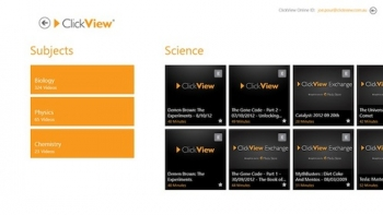 ClickView goes Windows 8