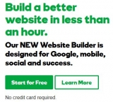 GoDaddy goes for small business with new website builder