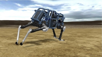 New LS3 military robot supports U.S. military