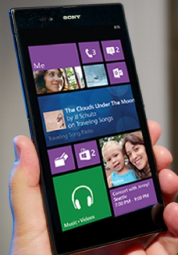 Sony's Xperia couldl run Windows Phone