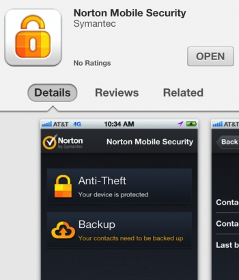 Norton updates Mobile Security for iOS, does separate Samsung deal