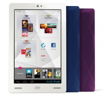 Kobo takes on Kindle Fire with Kobo Arc