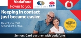 Vodafone makes first month free for Australian seniors