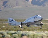 SpaceShipTwo completes 6th glide test