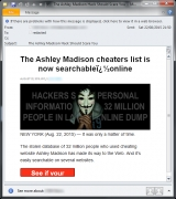 Spammers take advantage of Ashley Madison data breach