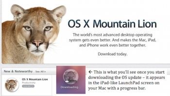 Mountain Lion FINALLY ARRIVES FOR REAL on Mac App Store!