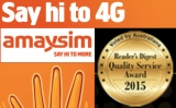 Amaysim wins yet another award for quality service