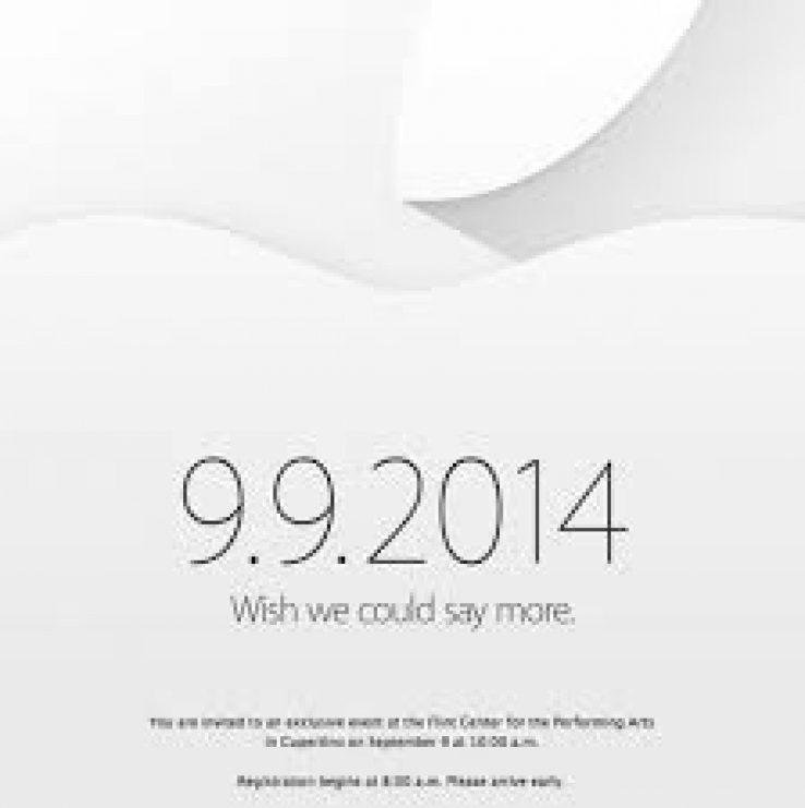 "Apple sends out invites for ""blockbuster"" event"