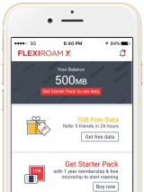 Flexiroam X: global data roaming disruptor's important app update