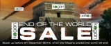 Kogan's first and last-ever 'end of world' SURVIVAL sale