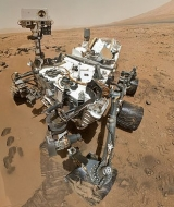 On Oct. 31, 2012, NASA's Curiosity rover used the Mars Hand Lens Imager to capture this set of 55 high-resolution images, stitched together to create full-color self-portrait