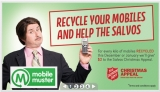 MobileMuster promises Salvos donations if you recycle