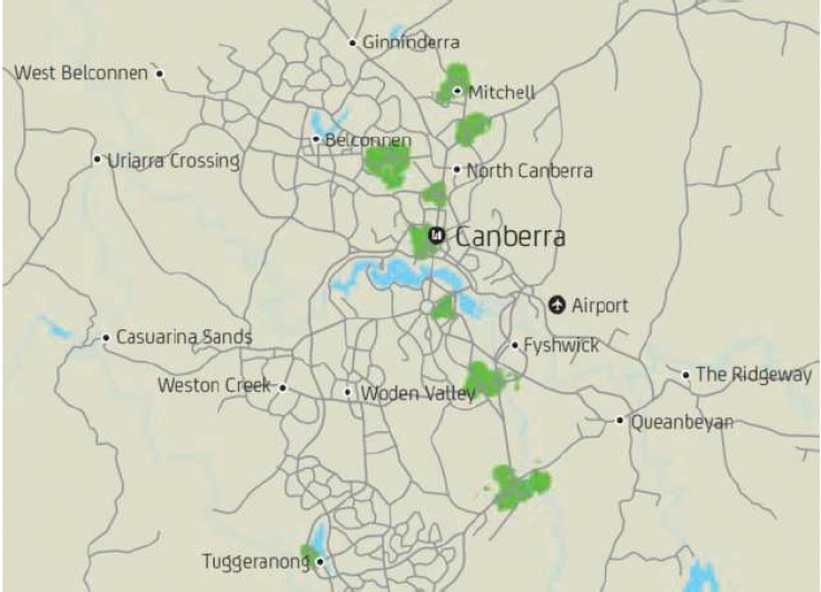Canberra gets first Optus TD-LTE services