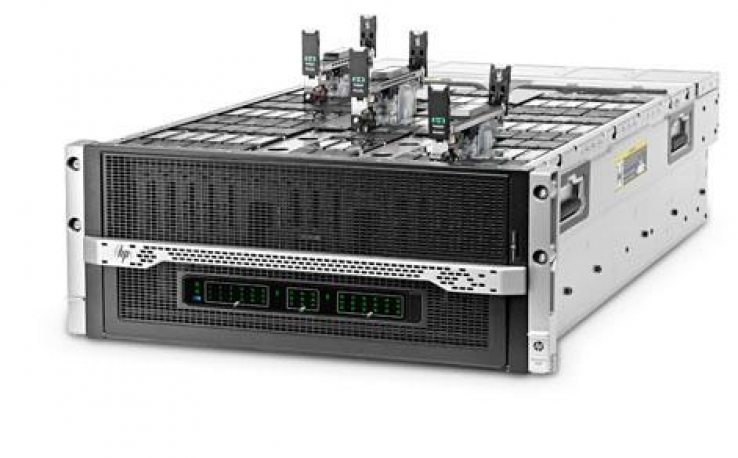 HP ships Moonshot server