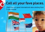 Vodafone's new 'Pay As You Go' for int'l calls: lower prices, rollover credit