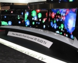 "LG launches ""f-ing unbelievable"" curved OLED displays"