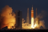 NASA's Orion spacecraft lifts off on its first unmanned orbital test flight from Cape Canaveral, Florida.