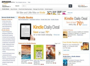 Australian Kindle Store opens, new Fire HDX tablets arriving soon