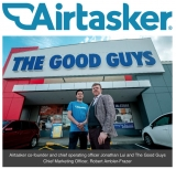 Airtasker and The Good Guys: first online platform for 'home installation'