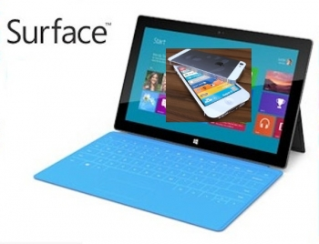 iPhone 5 vs Microsoft Surface Windows tablet - FIGHT!