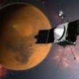 Video animation shows MAVEN orbiting Mars