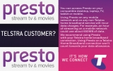 Telstra resells Presto, unmeters it on Telstra/Foxtel fixed broadband