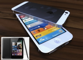 iPhone 5 vs Google Nexus 7: the choice of a new generation