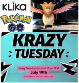 Gotta Klick'em all at Klika: GO Pokéklika?!