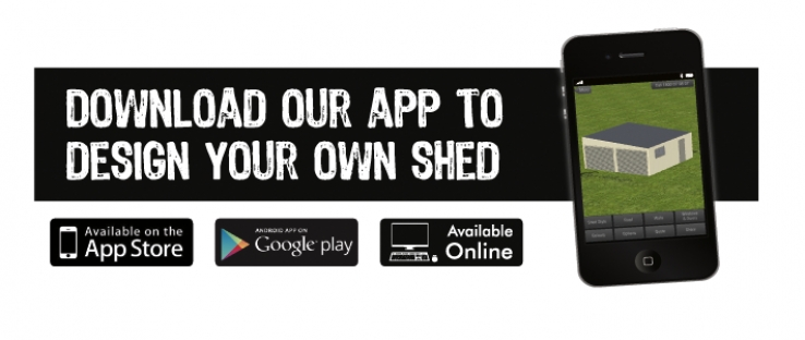 Fair Dinkum mate, it's an app for designing your shed!