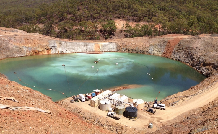 CSIRO turns mining wastewater into rainwater