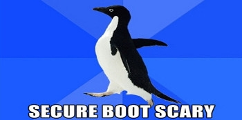 Is secure boot going to become compulsory on servers?