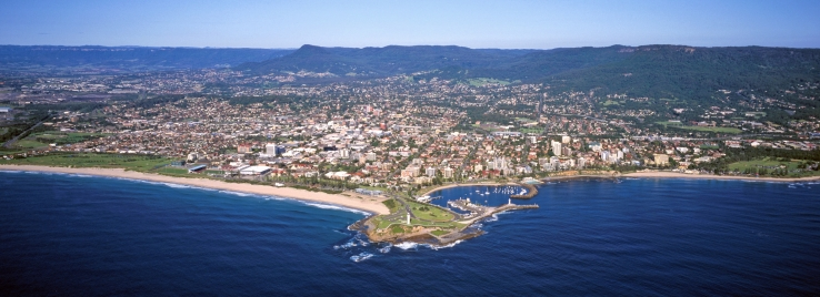 Wollongong at its picturesque best