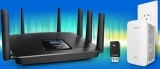 Linksys wins a trifecta of firsts