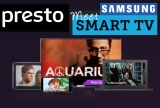Presto comes to select Samsung Smart TVs first