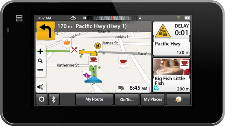 Navman's new GPS is smart and social
