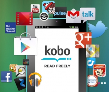 Kobo's Vox eReader now plays with Google Play!