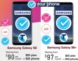 Telstra proclaims Galaxy S8/+ first 4G Blue Tick handsets - UPDATE