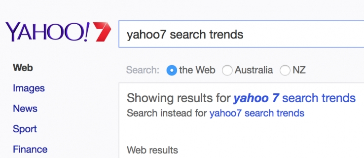 Yahoo7 releases 2014 search trends - in November?